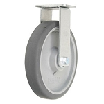 8 Inch Solid Grey Non-Marking Replacement Wheels