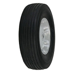 10 Inch Black & Grey Zero-Pressure Replacement Wheels