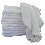 Ganesh Full Terry Bar Mops 16x19 100% Cotton White 24Oz/Dz 100 Dz Per Case Price Per Dz