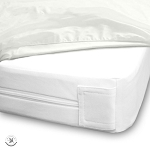 Ganesh Bed Bug Protective Cover w/ Zipper 72x80x15 King White 6 Per Case Price Per Each