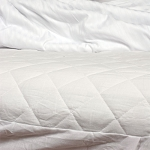 Ganesh Quilted Fitted Mattress Pad w/ 14