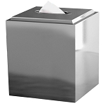 NuSteel Merlot 18/8 Stainless Boutique Tissue Box Cover 12 Per Case Price Per Each