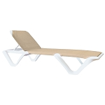 Nautical Pro Adjustable Sling Chaise