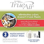 Hamilton Beach Commercial 04231GW TrueAir® 3 Pack Carbon Filters Tobacco 6 Per Case Price Per Each
