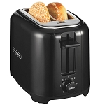 Proctor-Silex Commercial 22215 2 Slice Wide Slot Durable Toaster Black 2 Per Case Price Per Each