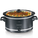 Hamilton Beach Commercial 33182 8 Qt Slow Cooker Black