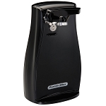 Proctor-Silex Commercial 75217F Power Opener™ Can Opener w/ Knife Sharpener Black 4 Per Case Price Per Each