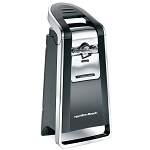 Hamilton Beach Commercial 76606Z Smooth Touch™ Can Opener Black & Chrome 2 Per Case Price Per Each