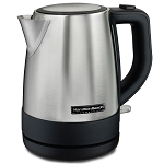 Hamilton Beach Commercial HKE110 1 Liter Stainless Steel Kettle 6 Per Case Price Per Each