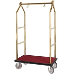 Hospitality 1 Source Contemporary Series Bellman's Cart w/ 8