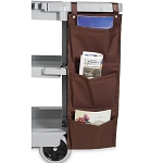 Hospitality 1 Source 3 Pocket X DUTY™ Housekeeping Caddy Bags 12x33 Brown 5 Per Case Price Per Each
