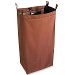 Hospitality 1 Source X DUTY™ Housekeeping Cart Bags Medium 18x30x12 Brown 5 Per Case Price Per Each