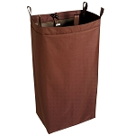 Hospitality 1 Source X DUTY™ Housekeeping Cart Bags Large 18x36x12 Brown 5 Per Case Price Per Each
