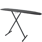 Hospitality 1 Source Basic Ironing Board w/ Charcoal Cover 53Lx13W Powder Coat Black Legs Finish 4 Per Case Price Per Each
