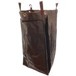 Hospitality 1 Source X DUTY™ PVC Laundry Bag w/ Zipper Large 18x30x12 Brown 5 Per Case Price Per Each