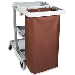 Hospitality 1 Source X DUTY™ Housekeeping Cart Bags Large 17x36x11 Brown 5 Per Case Price Per Each