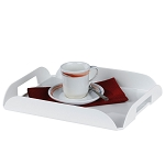 Hospitality 1 Source Coffee Tray White 6 Per Case Price Per Each