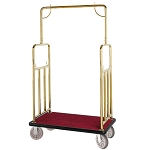 Hospitality 1 Source Classic Series Bellman's Cart w/ 8