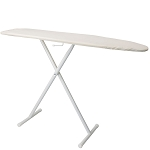 Hospitality 1 Source Basic Ironing Board w/ Light Khaki Cover 53Lx13W Powder Coat White Legs Finish 4 Per Case Price Per Each
