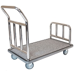 Hospitality 1 Source Stainless Steel Utility Cart w/ 5