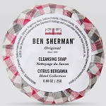 Ben Sherman Round Cleansing Spa Soap 0.88 Oz. 300 Per Case 3 Case Minimum