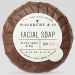 Woodbury Brown Sugar & Fig Round Oatmeal Facial Soap 0.75 Oz. 500 Per Case 3 Case Minimum