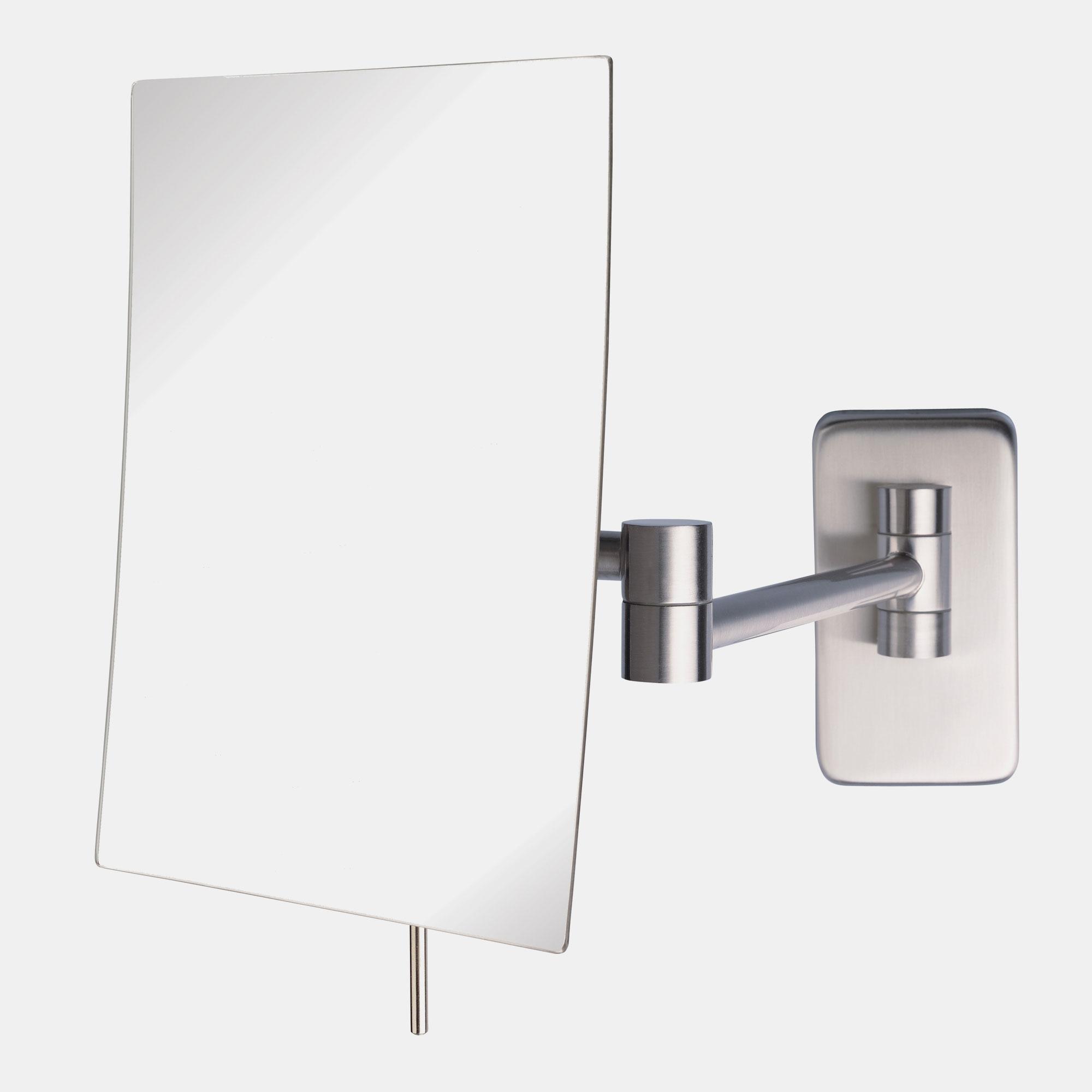 "Jerdon JRT695N 6.5""x8.75"" Rectangular Wall Mount Mirror 5X ..."