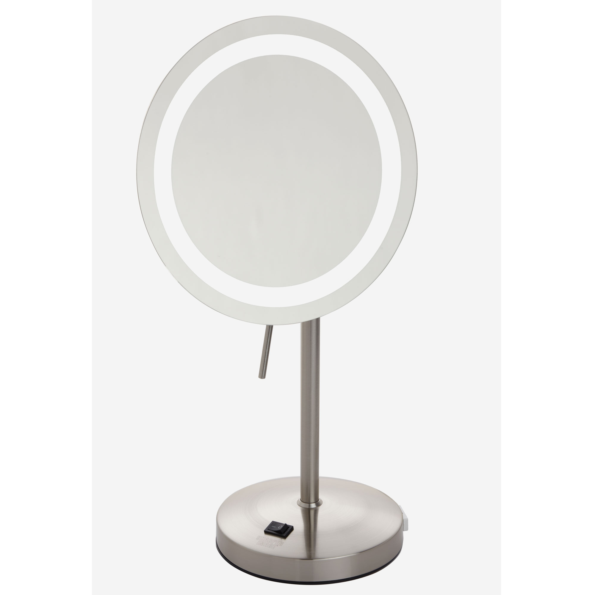 Led Lighted Tabletop Mirror 8x