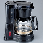 Jerdon CM430WD 4 Cup In Room Coffee Makers Auto Off Pause & Serve Black 6 Per Case Price Per Each
