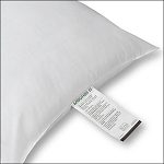 JS Fiber Dacron II Hospitality Pillow Standard 20Oz. Fill 12 Per Case Price Per Each