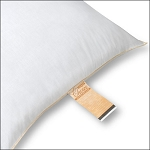 JS Fiber Gold Choice Hospitality Pillow Standard 22Oz. Fill 12 Per Case Price Per Each