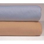 JS Fiber Southport Blanket Twin 72x90 100% Polyester Light Blue or Camel 12 Per Case Price Per Each