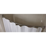 Kartri Curved Shower Rod 56