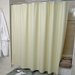 Kartri 8 Gauge Forester Vinyl Shower Curtain w/ Metal Grommets 72x72 12 Per Case Price Per Each