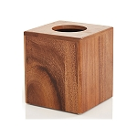 Wood Essential Tissue Box Cover