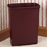 Lancaster Colony Design Line 7 Qt. Ignition Resistant Rectangular Wastebasket 12 Per Case Price Per Each