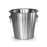 Lancaster Colony 5 Qt. Stainless Steel Champagne Bucket 12 Per Case Price Per Each