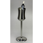 Lancaster Colony Stainless Steel Champagne & Wine Bucket w/ Stand 6 Per Case Price Per Each