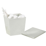 NuSteel Elegant Resin Swab/Cotton Container 24 Per Case Price Per Each