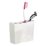 NuSteel Elegant Resin Toothbrush Holder 24 Per Case Price Per Each