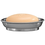 NuSteel Chic 18/8 Stainless Soap Dish 24 Per Case Price Per Each