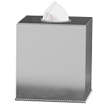 NuSteel Chic 18/8 Stainless Boutique Tissue Box Cover 12 Per Case Price Per Each