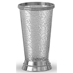 NuSteel Regal Crackle Glass w/ Chrome Trim Tumbler 12 Per Case Price Per Each