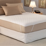 Hollander Eco-Smart Premium Mattress Pads w/ Anchor Bands Hotel King 72x80 6 Per Case Price Per Each