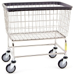 Large Capacity Wire Laundry Carts