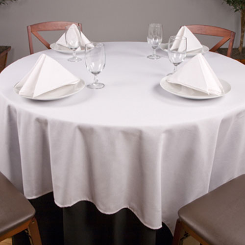 Riegel Permalux Cotton Blend 90 Round Tablecloth 1 Dz Per Case Price
