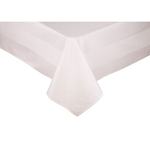 Parnell 100% Cotton Satin Band Square Tablecloths
