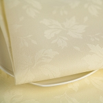 Premier Damask Featherleaf Pattern Square Tablecloths