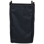 Royal Basket Short Size Housekeeping Cart Replacement Bag Black