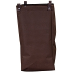 Royal Basket Short Size Housekeeping Cart Replacement Bag Brown